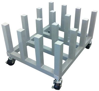 Vinyl Media Roll Holders Amp Carts Floor Storage Rack Wall