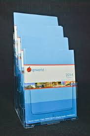 Brochure holders for walls  Counter