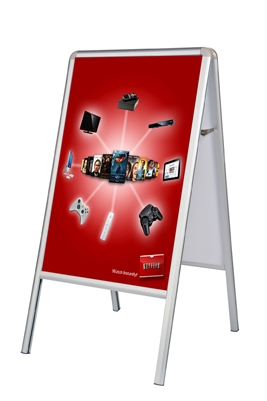 A Frame Double Sided Sidewalk Poster Sign Poster Sign Only